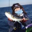 2009.1.8(木) 初挑戦で9匹・一木美名子さん!