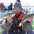 2009.1.11(日) 9匹釣った沼倉さん!