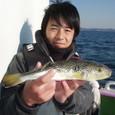 2009.1.17(土) 32cm・水落さん!