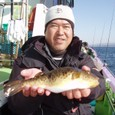 2009.2.8(日) 良型アカメ・坂下さん!