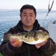 2009.2.12(木) アカメ含む5匹・鈴木さん!