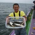 2009.6.3(水) 2番手・19匹・築山さん!