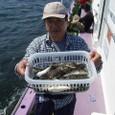 2008.9.12   初挑戦で41匹釣った斉藤さん!