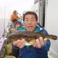 2009.9.15(火) 35cmの特大アカメ・安藤さん!