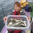 2009.9.15(火) 初挑戦で大健闘の53匹・和久井美幸さん!