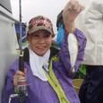 2009.9.22(火) 初挑戦で大健闘の20匹・島田和沙さん!