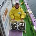 2008.9.30(火) 初挑戦で101匹の大爆釣・秋場さん!