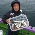 2009.9.30(水) 初挑戦で24匹・見目さん!