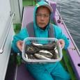 2008.10.1(水) 40匹釣った佐野さん!