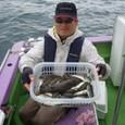 2008.10.1(水) 37匹釣った齋藤さん!
