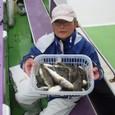 2008.10.1(水) 40匹釣った増成さん!