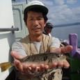 2008.10.4(土) 良型を釣った浜野さん!