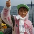 2008.10.19(日) 7匹釣り健闘した加藤愛望ちゃん!