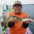 2009.10.23(金) アカメ2匹を含む32匹・山崎さん!
