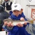 2008.11.9(日) 初挑戦で15匹釣った柴田さん!