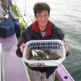 2009.11.10(火) 初挑戦で26匹・小谷中さん!