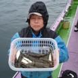 2008.11.11(火) 初挑戦で16匹釣った大久保さん!