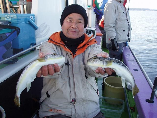 2009.1.2(金) 31cmと30cm・久保さん!
