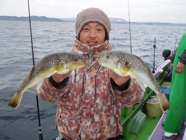 2009.1.7(水) 34cmを2匹・熊田さん!