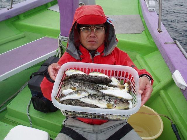 2009.1.7(水) 2番手・50匹・河口さん!