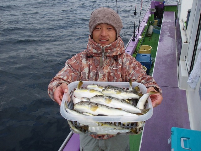 2009.1.7(水) 竿頭・54匹・熊田さん!