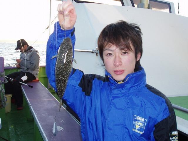 2010.1.7(木) 初挑戦で12匹・高田さん!