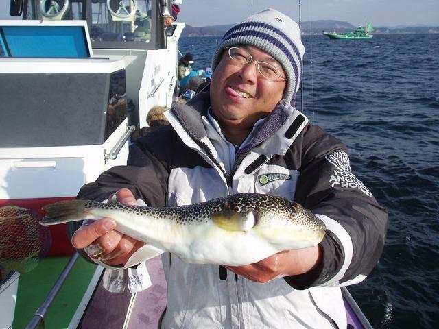 2009.1.8(木) 37cm・山本さん!