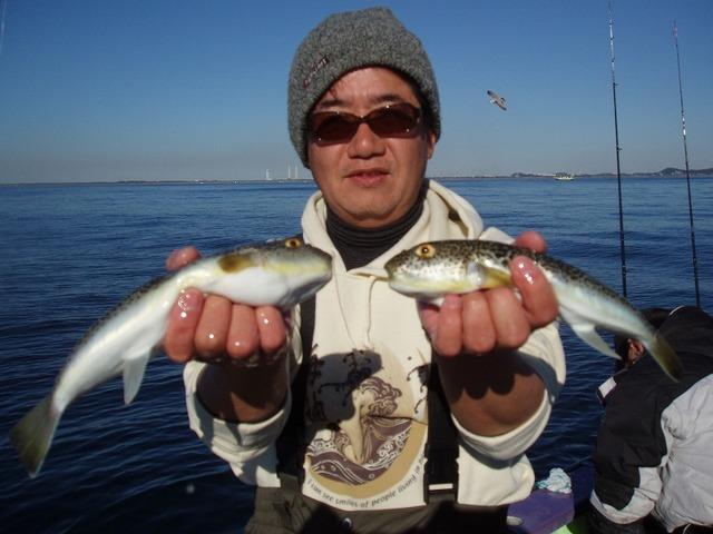 2009.1.11(日) 2番手・12匹・山内さん!
