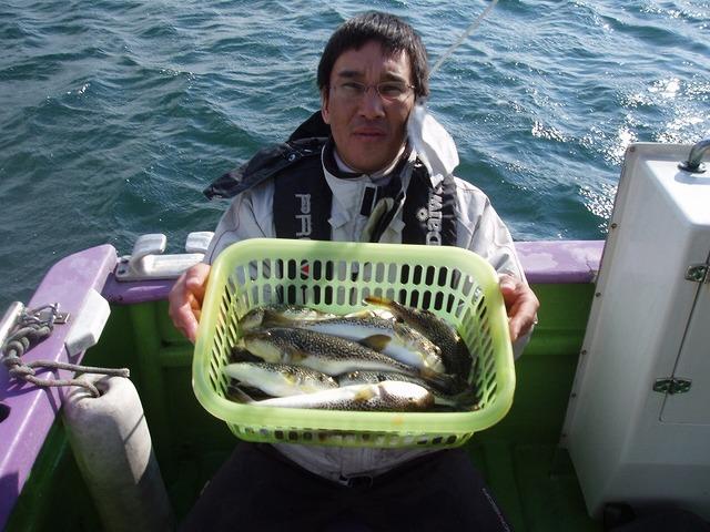 2009.1.12(月) 竿頭・19匹・岩上さん!