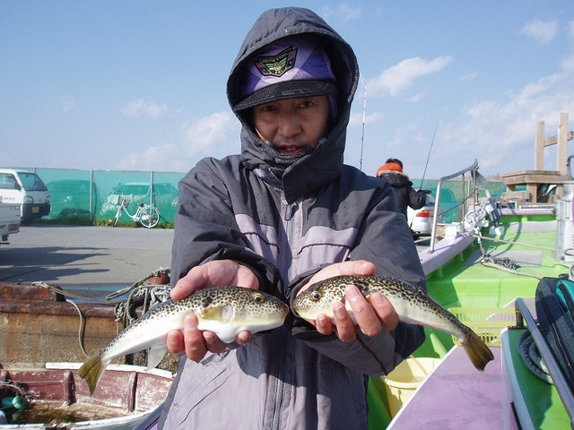 2009.1.12(月) 3番手・7匹・石山さん!