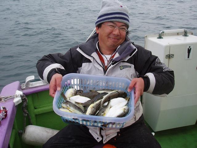 2009.1.18(日) 2番手・34匹・山本さん!