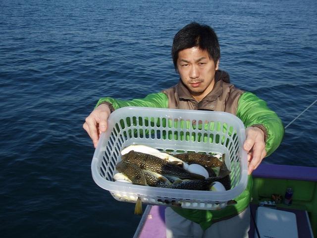 2010.1.19(火) 竿頭・15匹・北野さん!