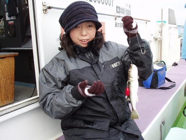 2009.1.21(水) 初挑戦の松本さん!
