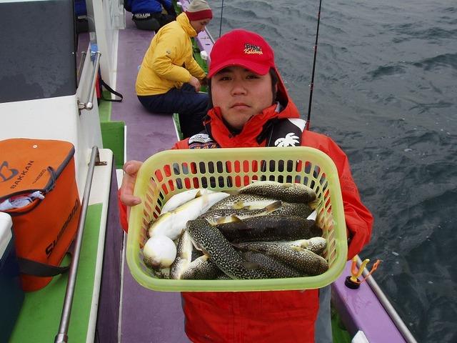 2009.1.21(水) 2番手・23匹・山下さん!