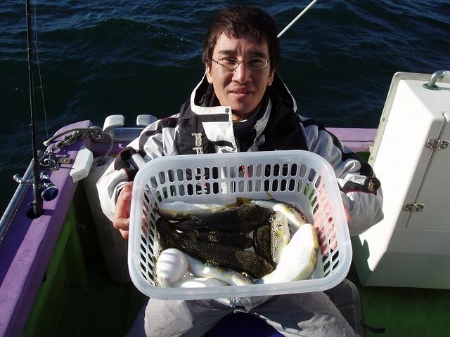 2009.1.25(日) 竿頭・12匹・岩上さん!