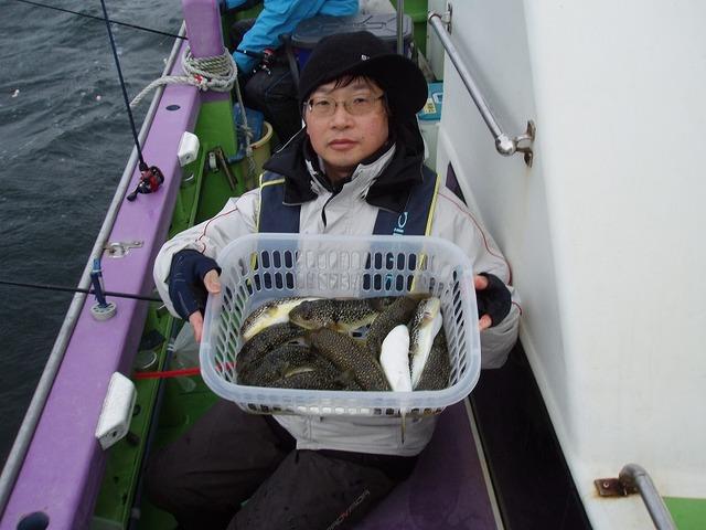 2009.1.26(月) 2番手・11匹・谷川さん!