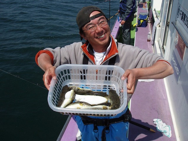 2009.4.29(水) 竿頭・12匹・山本さん!