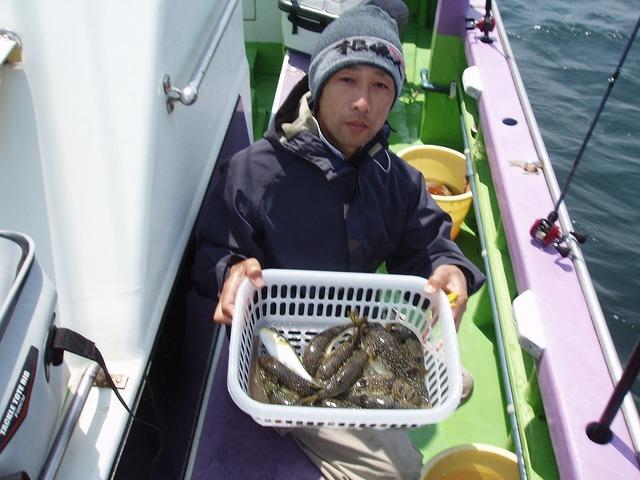 2009.5.10(日) 初挑戦で竿頭・11匹・大谷さん!