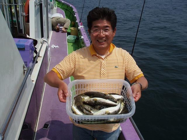 2009.5.13(水) 竿頭・22匹・山内さん!