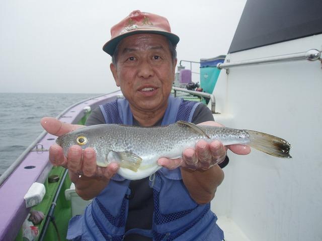 2009.6.25(木) 37cmのデカフグ・速水さん!