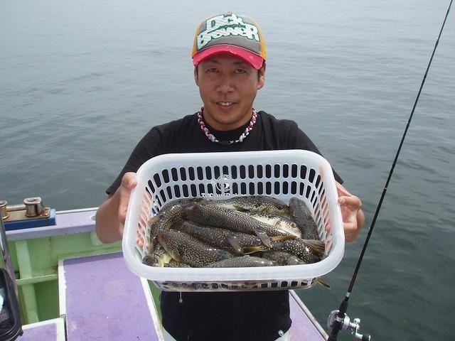 2009.6.29(月) 竿頭・22匹・菊池さん!