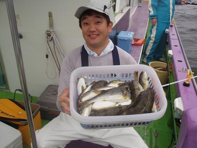 2009.7.2(木) 竿頭・35匹・北山さん!