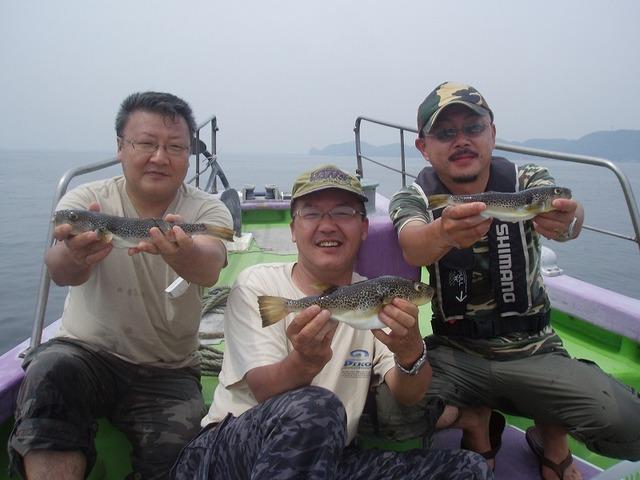 2009.7.4(土) 石井さんお2人と石川さん!
