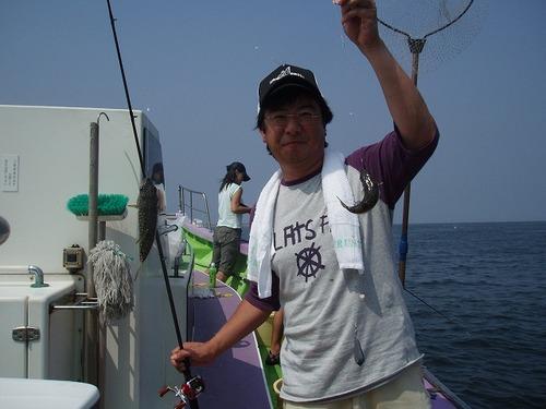 2008.9.7     3番手・21匹・山本さん!