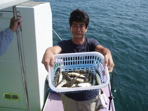 2008.9.9   2番手・25匹・北村さん!