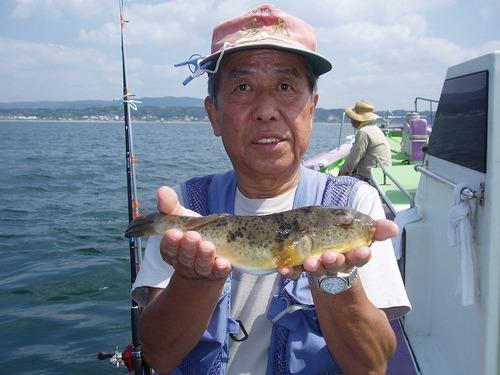 2008.9.10   アカメを含む9匹釣った速水さん!