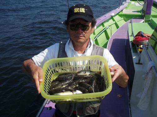 2008.9.12   32匹釣った藤巻さん!