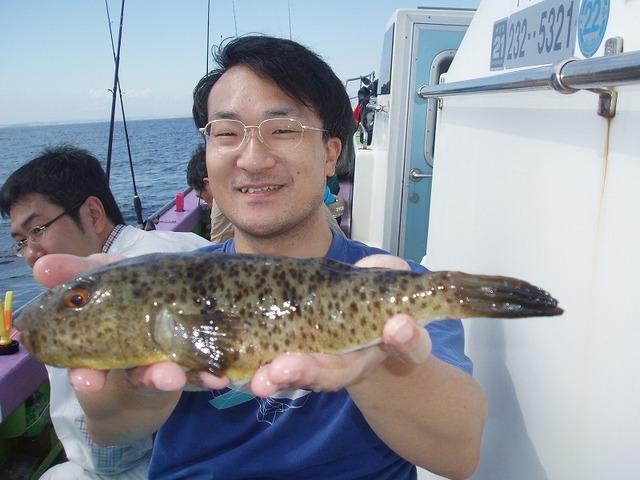 2009.9.13(日) アカメ30cm・笹川さん!