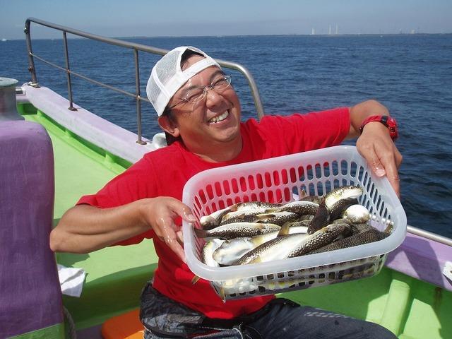 2009.9.13(日) 2番手・47匹・山本さん!