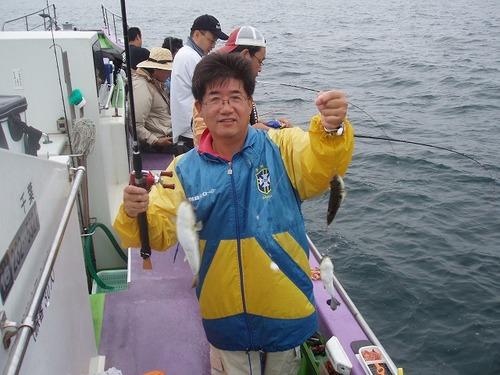 2008.9.14  良型のダブル・ 山内さん!